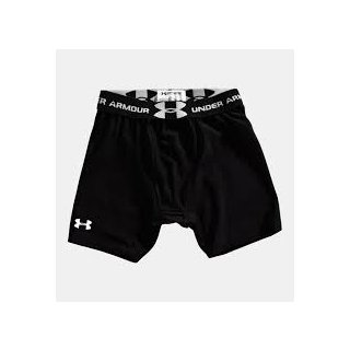 Under Armour Boys Compression Short With Cup Pocket