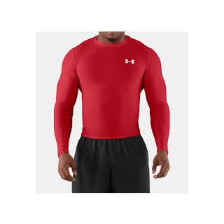Under Armour Mens HeatGear  Compression Long Sleeve T-Shirt