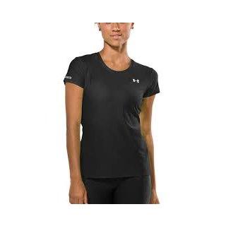 Under Armour Womens HeatGear  Short Sleeve T-Shirt