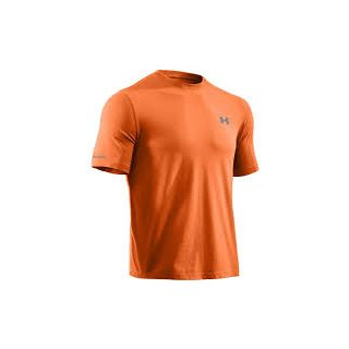Under Armour Mens Charged Cotton  Short Sleeve T-Shirt
