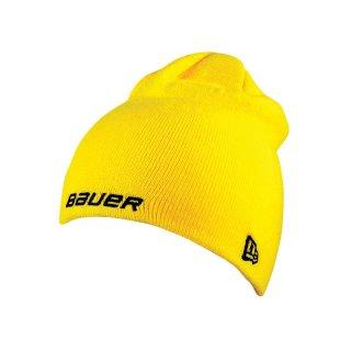 BAUER / New Era¬ Knit Toque - gelb