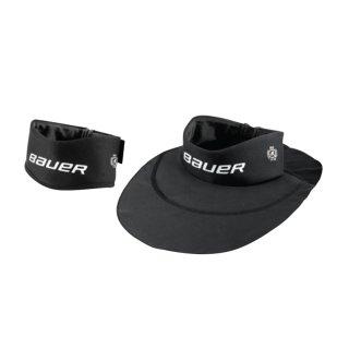 BAUER NG NLP20 Premium Neckguard Collar - schwarz - Yth.