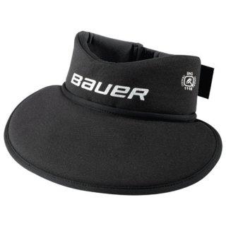 BAUER NG NLP8 Core Neckguard Bib - schwarz - Yth.