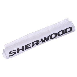 SHER-WOOD Shower Towel 70 x 140 cm - weiß