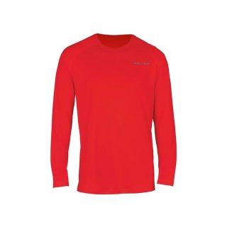 BAUER Training Langarm Shirt 37.5 - rot