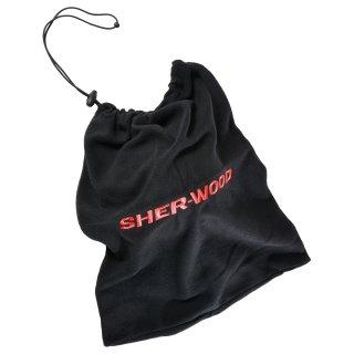 SHER-WOOD Helm Fleece Tasche (schwarz)