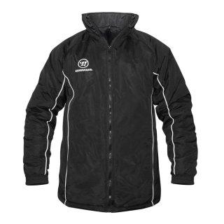 Warrior Stadium Jacket W2 mit HEV Logo Junior schwarz