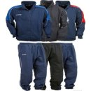 CCM Sweatsuit Full Zip Jogging Deluxe Junior XL (160) navy