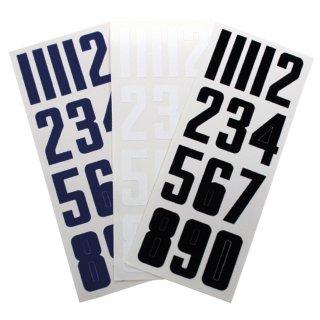 BAUER Helm Nummern Set - (Nr. 0 - 9) - Einzel Set