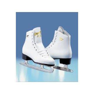 Graf Eiskunstlaufschlittschuhe Davos Gold Senior weiss