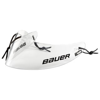 BAUER Throat Protector Profile - clear Sr.