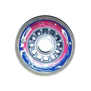 BASE Indoor Performance Wheel clear 74A_ 76 mm Stück