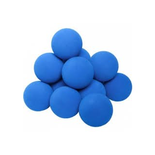 Ball Sidelines Mini Schaum-Ball blau  5cm
