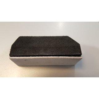 """NASH Proglide Block mit Lederauflage (""""Abziehstein"""") für Carbonkufe"""