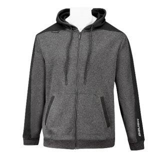 BAUER Fleece FZ Premium - antrazit/schwarz -