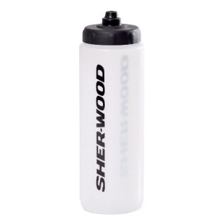 """SHER-WOOD Trinkflasche """"Squeeze"""" 0,85 L clear"""