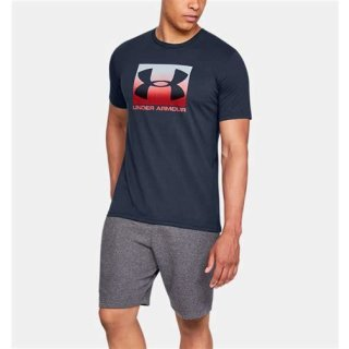 Herren UA Boxed Sportstyle T-Shirt Black (001) XL