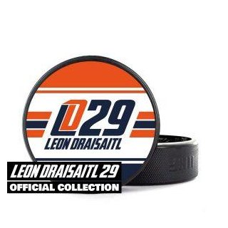 Leon Draisaitl 29 Official Collection Puck